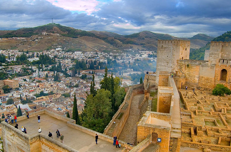 the history geography and culture of granada a city in andalucia spain